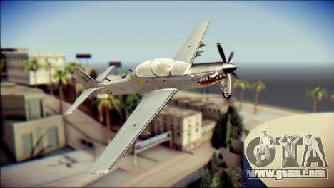 EMB 314 Super Tucano Colombian Air Force para GTA San Andreas