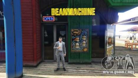 Una tienda de café para GTA 5