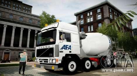 Volvo F10 cement truck para GTA 4