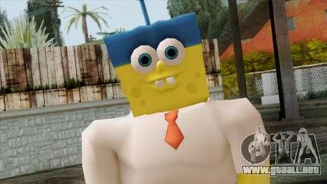 Spongebob as Mr.Invincibubble para GTA San Andreas tercera pantalla