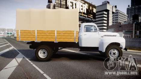 Ford F-6 1949 4WD para GTA 4 left