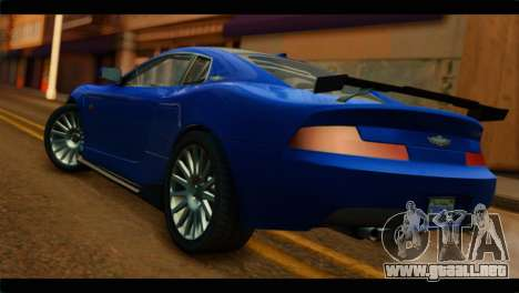 MP3 Dewbauchee XSL650R IVF para GTA San Andreas left