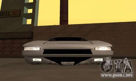 Infernus BanDit para la visión correcta GTA San Andreas