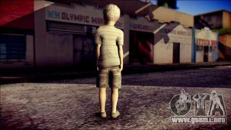 Dante Child Skin para GTA San Andreas segunda pantalla