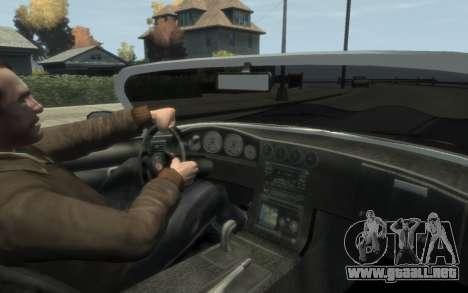 GTA 3 Bravado Banshee HD para GTA 4 vista hacia atrás