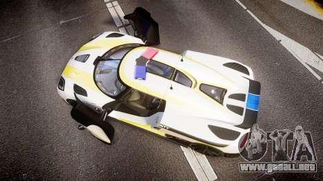 Koenigsegg Agera 2013 Police [EPM] v1.1 Low Qual para GTA 4 visión correcta