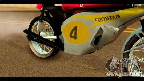 Honda RC 181 1967 para la visión correcta GTA San Andreas