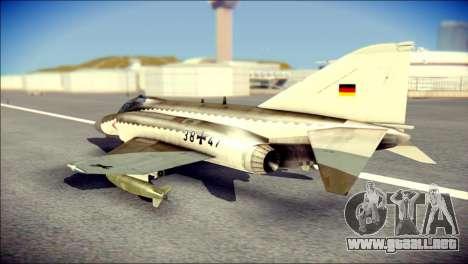 McDonnell Douglas F-4F Luftwaffe para GTA San Andreas left