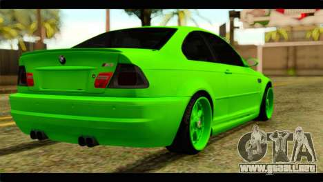 BMW M3 E46 Stock para GTA San Andreas left