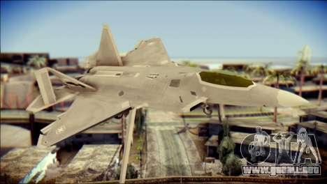 F-22 Gryphus, Falco and Antares para GTA San Andreas