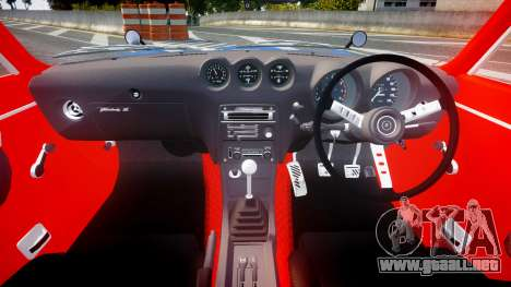 Nissan Fairlady Devil Z para GTA 4 vista hacia atrás