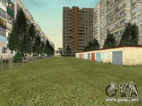 Prostokvashino para GTA Penal de Rusia beta 2 para GTA San Andreas novena de pantalla