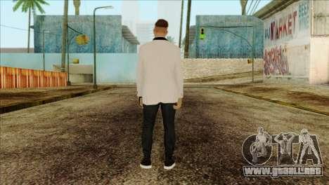 Skin 2 from GTA 5 para GTA San Andreas segunda pantalla