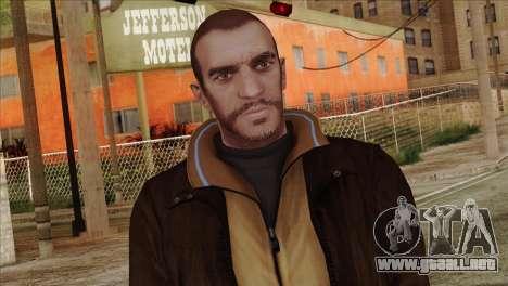 Niko from GTA 5 para GTA San Andreas tercera pantalla