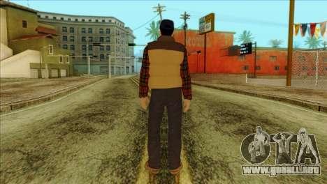 Big Rig Alex Shepherd Skin para GTA San Andreas segunda pantalla