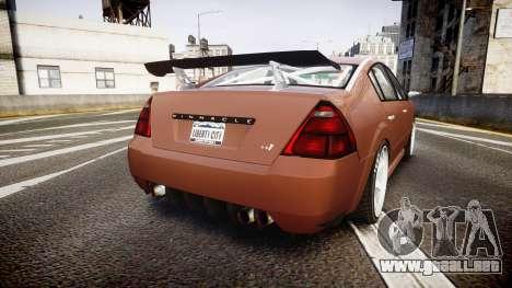 Annis Pinnacle RT [Final] para GTA 4 Vista posterior izquierda