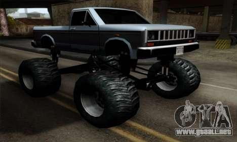 Monster Bobcat para GTA San Andreas