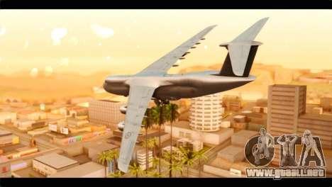 Lockheed C-5M RCAF para GTA San Andreas left