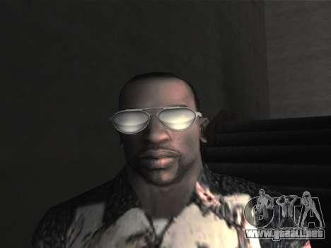 Las gafas nuevas para CJ para GTA San Andreas séptima pantalla
