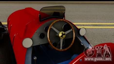 Ferrari 375 F1 para visión interna GTA San Andreas