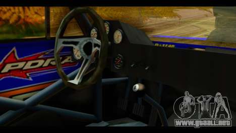 Chevy Nova NOS DRAG para la visión correcta GTA San Andreas