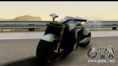 Krol Taurus Concept HD A.D.O.M v1.0 para GTA San Andreas vista posterior izquierda