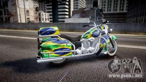 GTA V Western Motorcycle Company Sovereign BRA para GTA 4 left