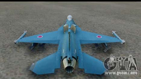 F-2A Viper Blue para GTA San Andreas left