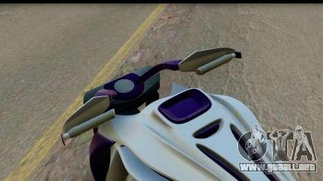 Krol Taurus Concept HD A.D.O.M v1.0 para GTA San Andreas vista hacia atrás