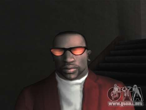 Las gafas nuevas para CJ para GTA San Andreas