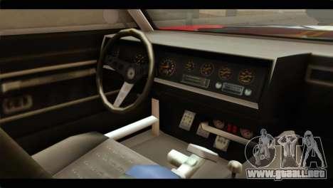 GTA 5 Declasse Sabre GT Turbo para la visión correcta GTA San Andreas