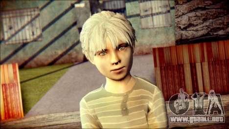 Dante Child Skin para GTA San Andreas tercera pantalla