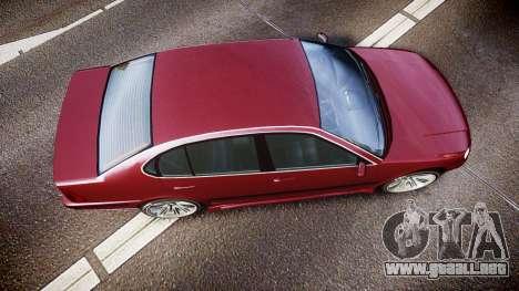 Emperor Lokus LS 350 Elegance para GTA 4 visión correcta