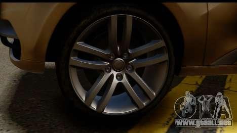 Lada XRay Concept v0.8 para GTA San Andreas vista posterior izquierda