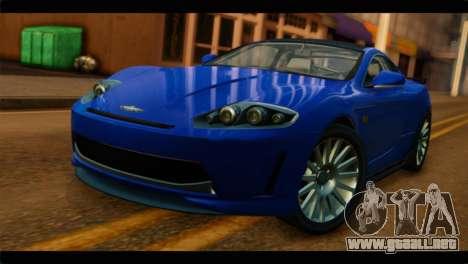 MP3 Dewbauchee XSL650R IVF para GTA San Andreas