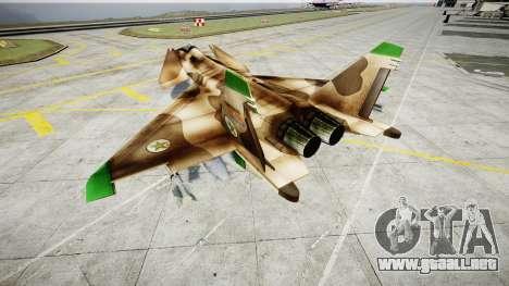 MiG 1.44 IFM para GTA 4 Vista posterior izquierda