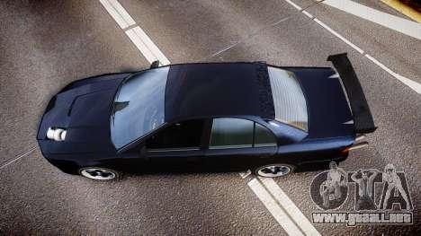 Maibatsu Vincent 16V Drift para GTA 4 visión correcta