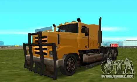 PS2 RoadTrain para GTA San Andreas