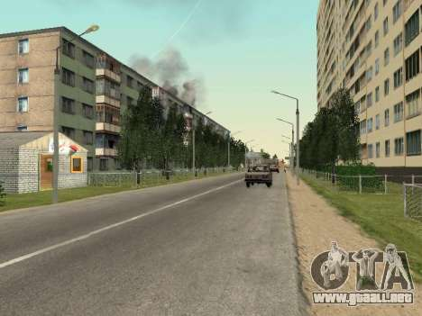 Prostokvashino para GTA Penal de Rusia beta 2 para GTA San Andreas séptima pantalla
