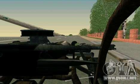 Dodge Charger RT HL2 EP2 para vista lateral GTA San Andreas
