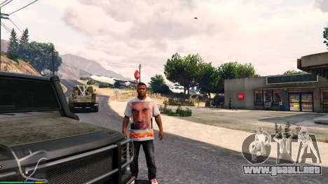 T-shirt for Franklin. - Fizruk para GTA 5