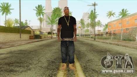 Tupac Shakur Skin v2 para GTA San Andreas
