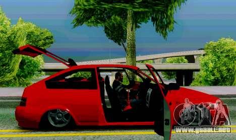 VAZ 2112 para GTA San Andreas vista hacia atrás