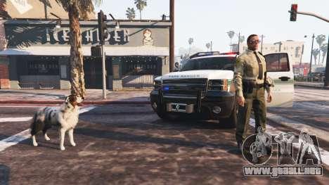 GTA 5 Police Mod 1.0b tercera captura de pantalla