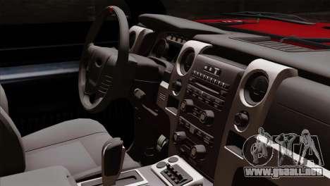 Bobcat Fx4 para la visión correcta GTA San Andreas