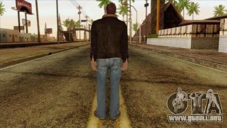 Niko from GTA 5 para GTA San Andreas segunda pantalla