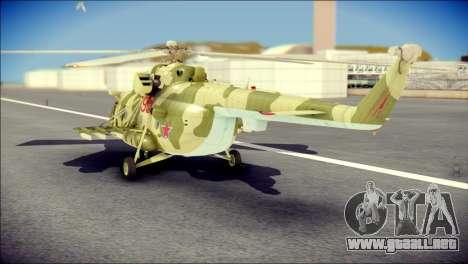Mi-8 Hip para GTA San Andreas left
