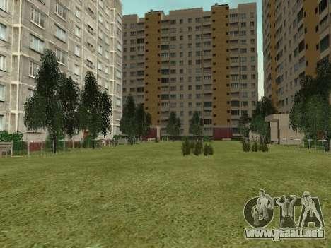 Prostokvashino para GTA Penal de Rusia beta 2 para GTA San Andreas octavo de pantalla