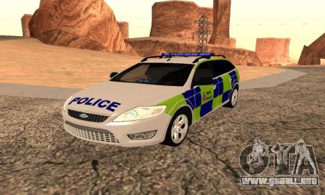 Ford Mondeo De La Policía De Kent para GTA San Andreas