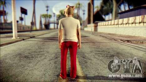 Skin Kawaiis GTA V Online v3 para GTA San Andreas segunda pantalla